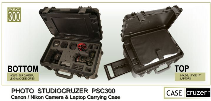 StudioCruzer PSC300 - Canon / Nikon Camera & Laptop Case