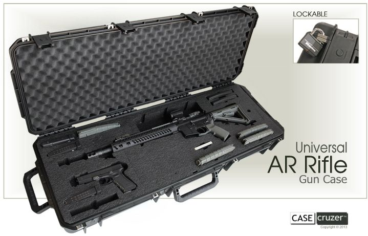 Universal AR Rifle Case Press Release