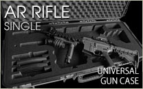 Universal AR Rifle Case Single