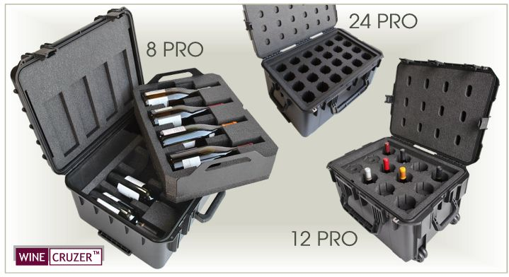 WineCruzer PRO Series of Wine Carriers