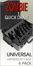 Zombie Quick Draw Universal Handgun Case