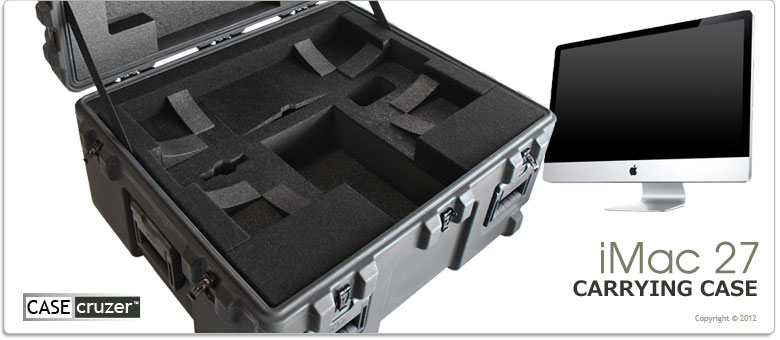 Imac 27 Inch Shipping Amp Carrying Case Casecruzer