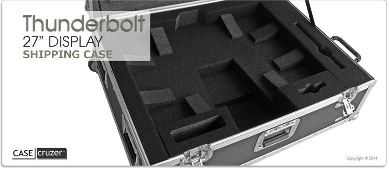 Thunderbolt Display Shipping Case - CaseCruzer