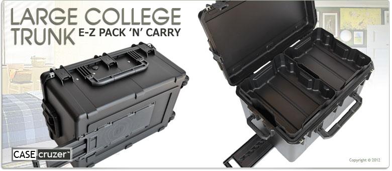 Large College Trunk Amp Footlocker By Casecruzer