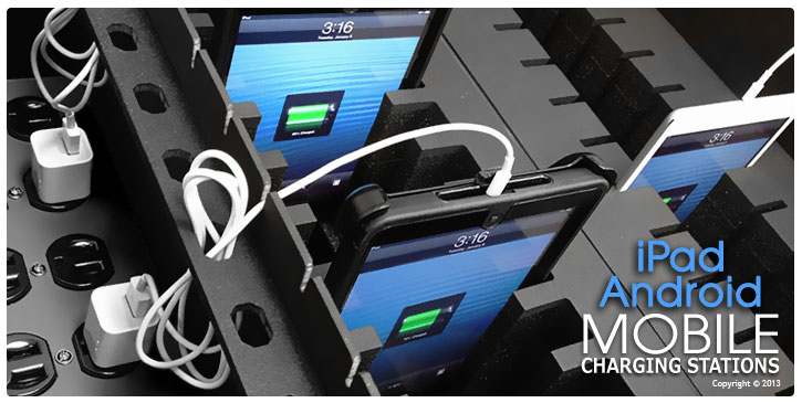 Android - iPad Charging Station