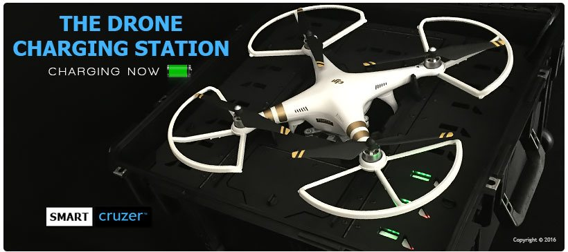 Drone Charging Station Case