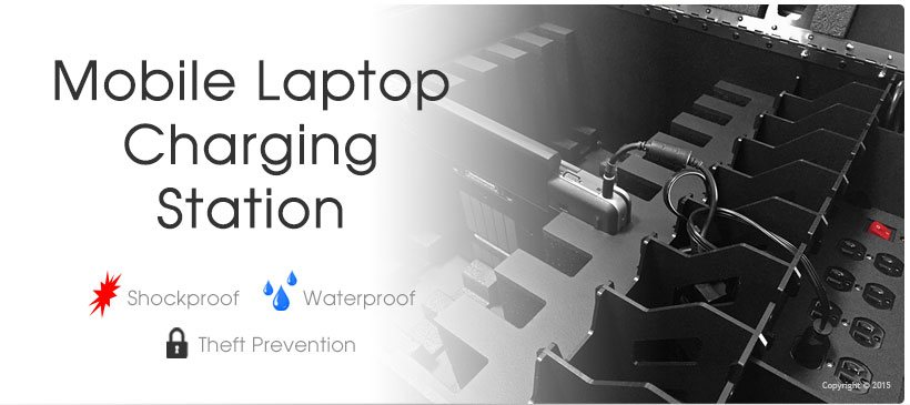 Laptop Charging Station - 8 Pack