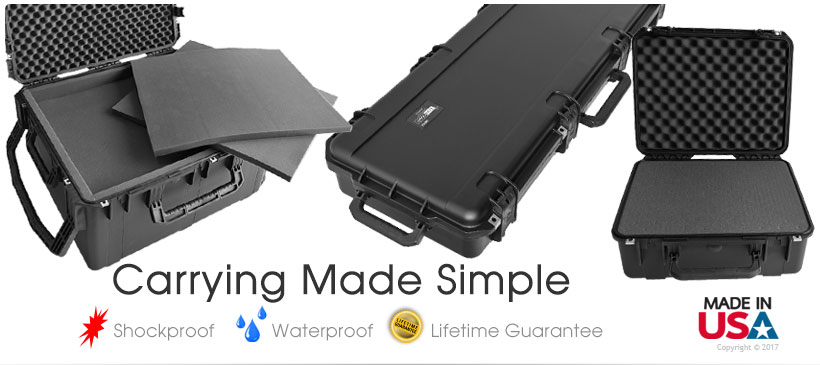 Waterproof Carrying Cases & Shipping Case
