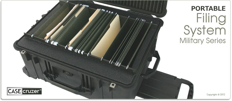 Mobile File Cabinet Watertight Case
