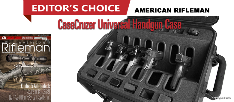 Universal handgun cases quick draw pro series for American home choice
