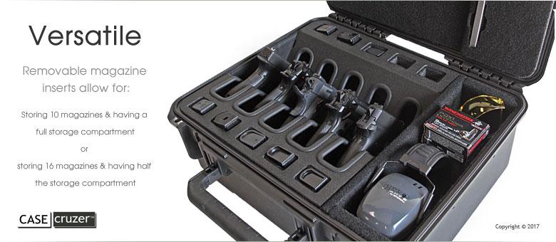 Shooting Range Universal 5 Pack Handgun Case