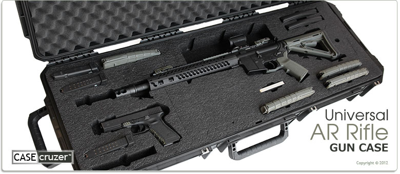Universal AR15 Tactical Rifle Case - GunCruzer