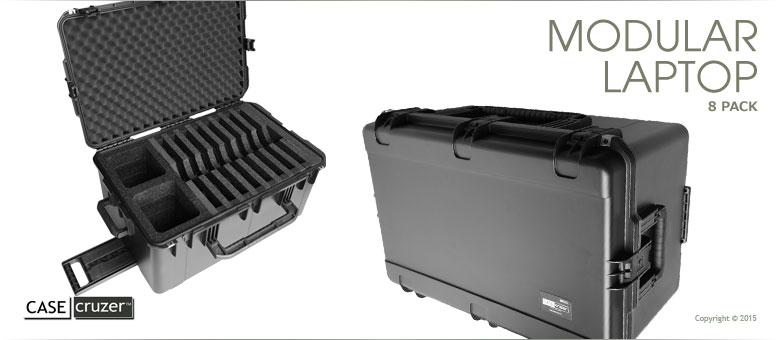 4ba9af5f447f MLC-2918-8pack Multiple Laptop Carrying Case by CaseCruzer