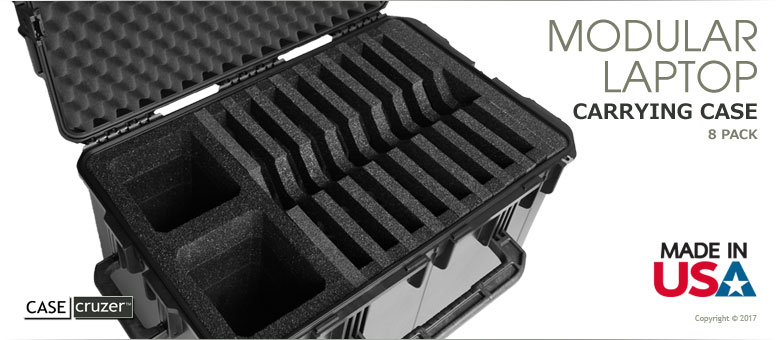 Mlc 2918 8pack Multiple Laptop Carrying Case By Casecruzer